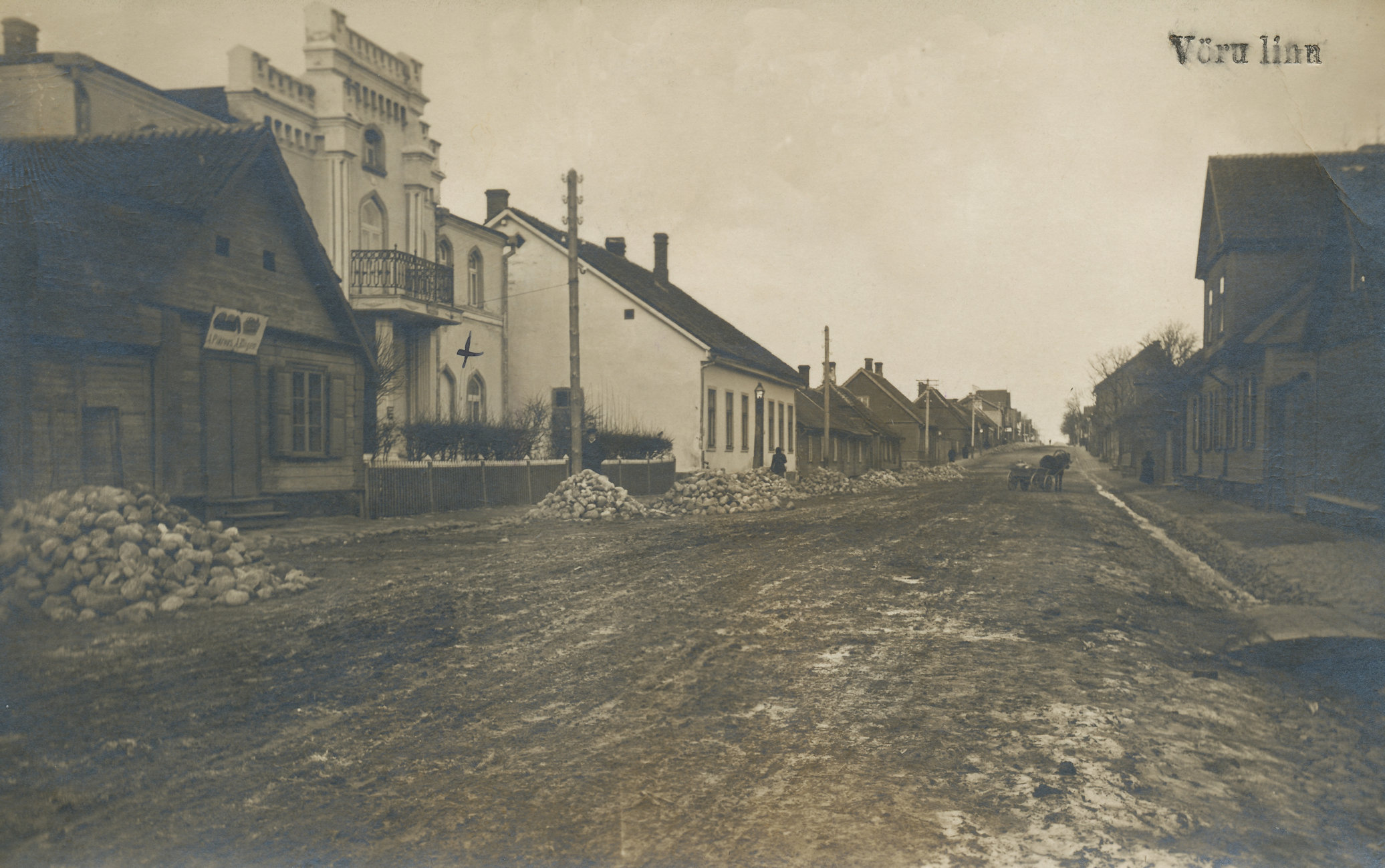 Jüri street in the beginning of the 20th century (previously Georgi street)